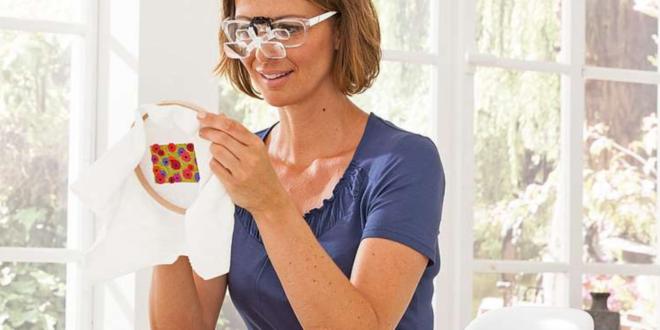 Sehhilfe 660x330 - Sehhilfen erleichtern Handarbeiten